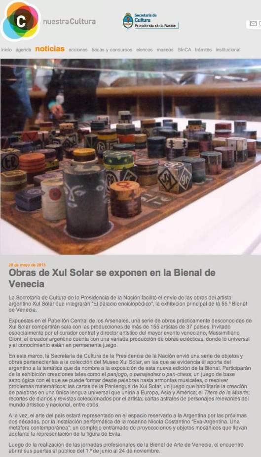 Argentina Bienal 2013