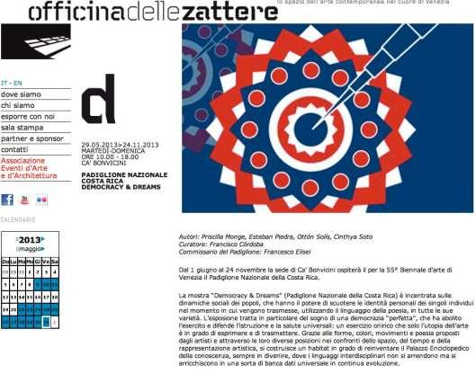 Costa Rica Biennale 2013