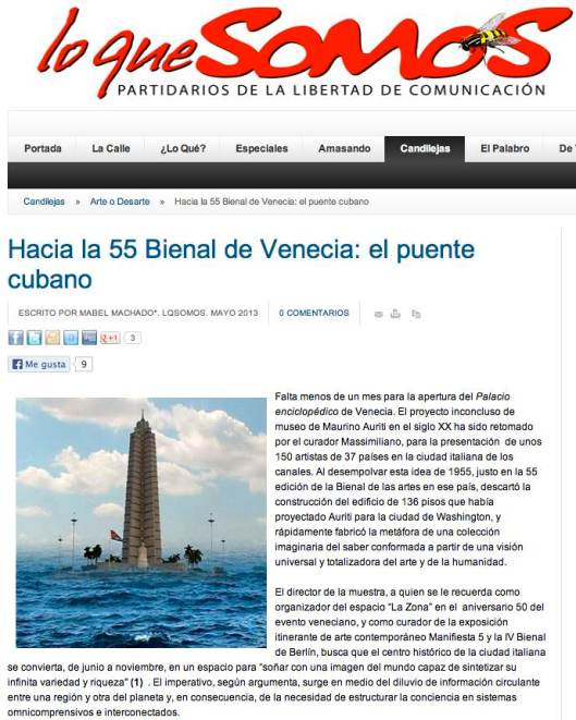 biennale 2013 Cuba