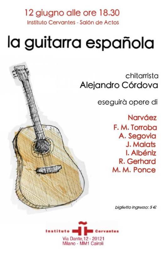 Locandina chitarra