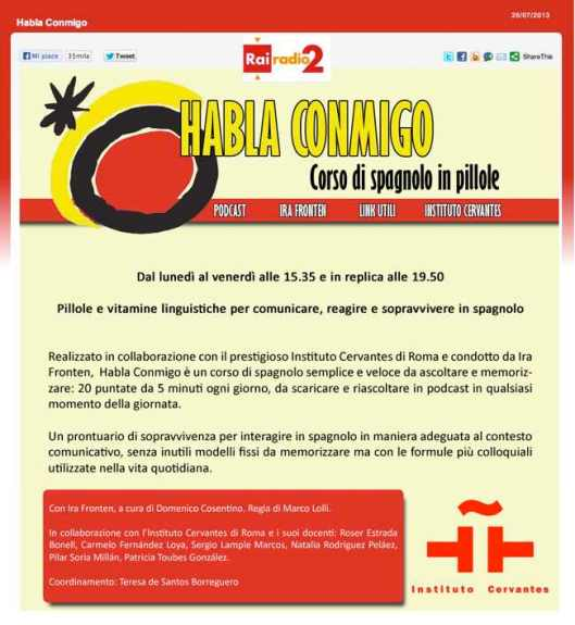 Rai II curso de español