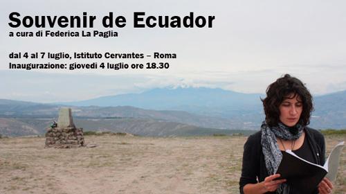 Souvenie de ecuador