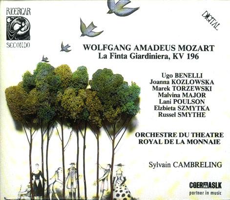 La finta giardiniera 04-86 disco