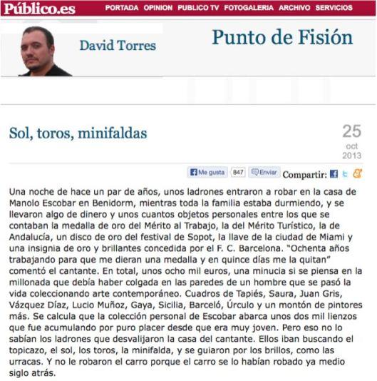 Publico Manolo Escobar