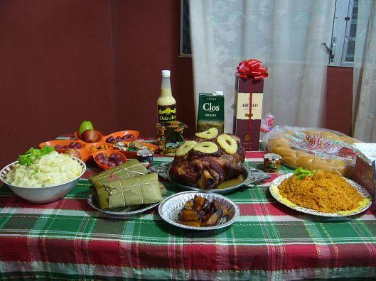 cena de navidad en Panama