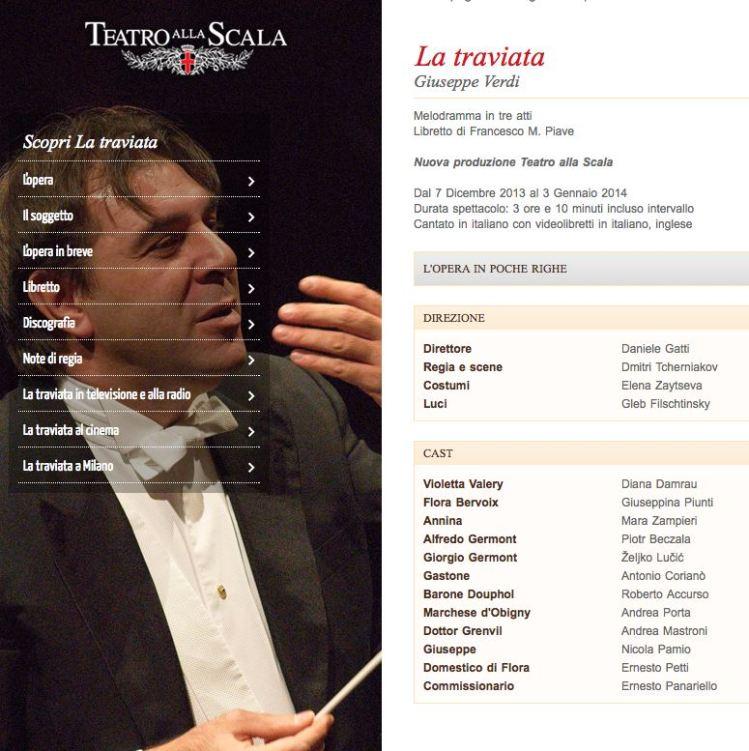 La Traviata 7 12 2013