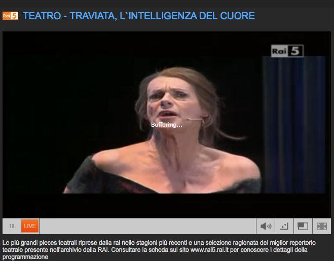 Rai5 La Traviata Live