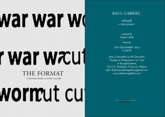 Raoul Gabriel Invitación