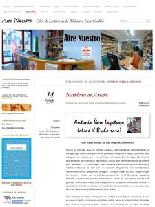 Aire Nuestro - Columna de Antonio Íbero Layetano