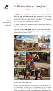 Aire Nuestro - La Piñata mexicana
