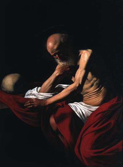 Carravaggio San Girolamo