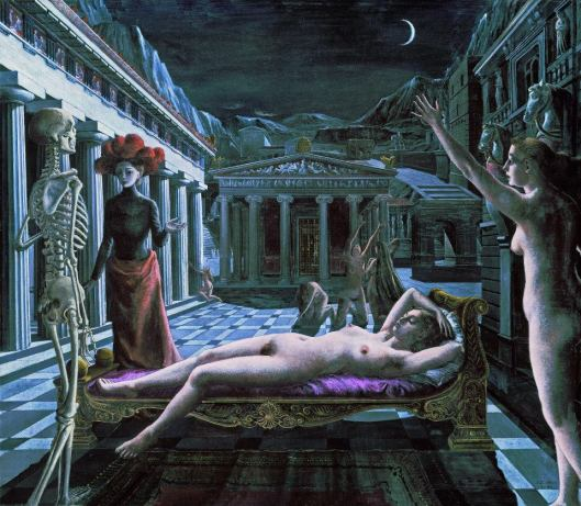 La Venus dormida Delvaux