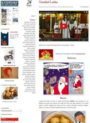 Los Amigos de Cervantes - Navidad Latina
