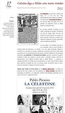 Los Amigos de Cervantes - La Celestina