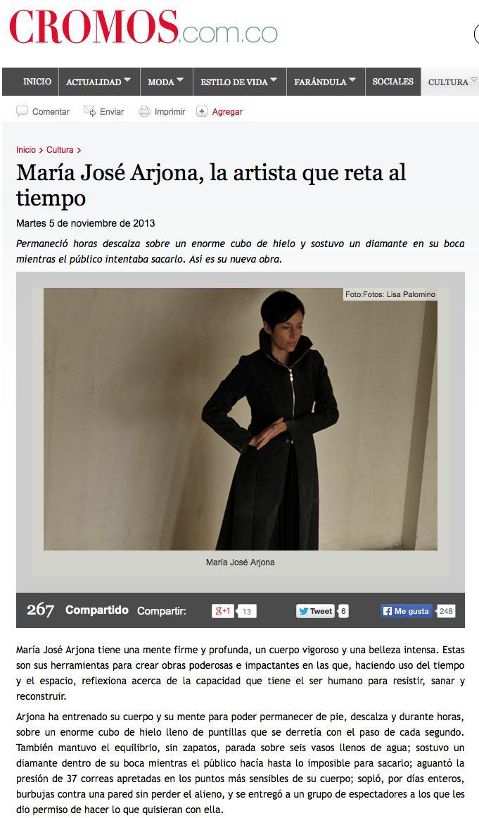 Maria José Arjona prensa