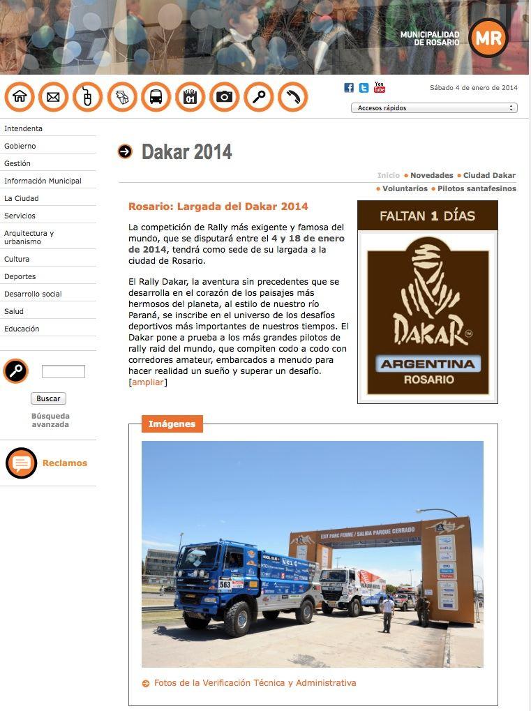 Rosario Dakar 2014