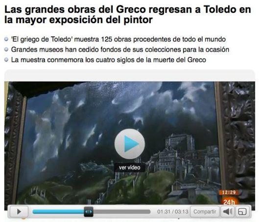 El Greco rtve
