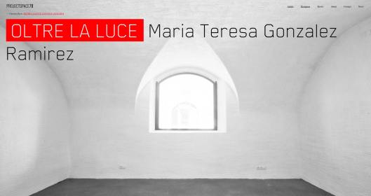 Oltre la Luce Maria Teresa Gonzalez Ramirez