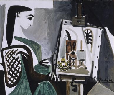 Picasso en el taller