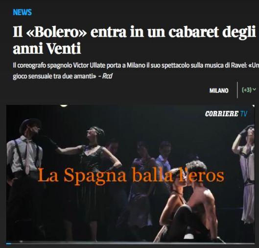 Victor Ullate Ballet corriere