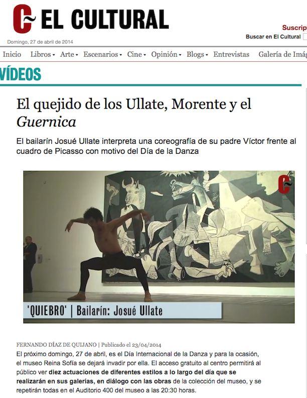 Vicyor Ullate Ballet - Gernica
