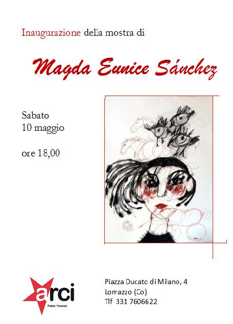 Inauguración Magda Eunice Sánchez