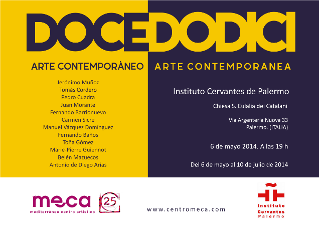 Invitacion DoceDodici en IC Palermo