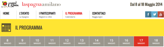 La Spagna arriva a Milano banner 17mayo