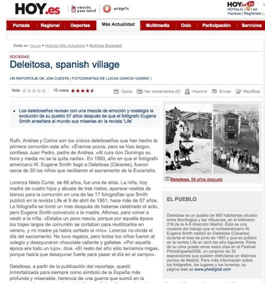 Deleitosa Spanish village