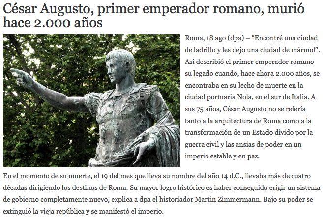 El digital de  Asturias Augusto