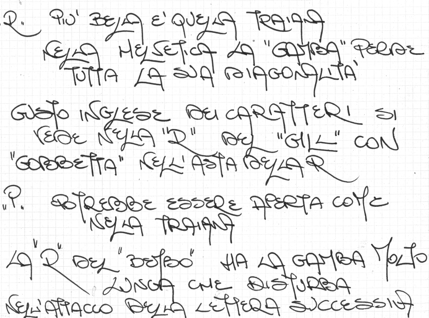 escritura mayúscula de una profesionista
