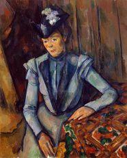 CEZANNE: Mujer de azul