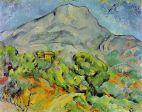 CEZANNE: El monte Sainte Victoire
