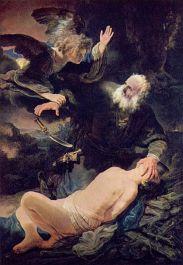 REMBRANDT: EL sacrificio de Abraham