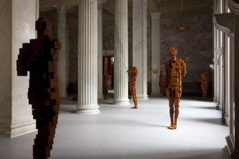STILL STANDING, STATE HERMITAGE MUSEUM, ST PETERSBURG, RUSSIA, 2011 2 - 2012
