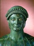 Apollo (dalla casa di Giulio Polibio a Pompei) I sec. AC (part)