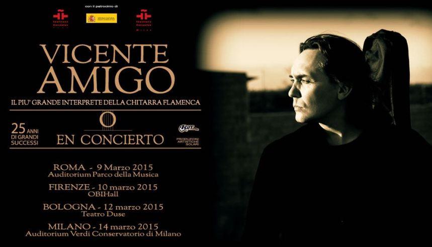 Vicente Amigo Tour