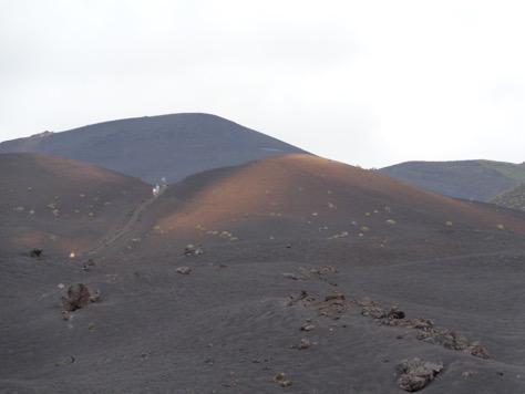 Isla de La Palma - desierto de lava