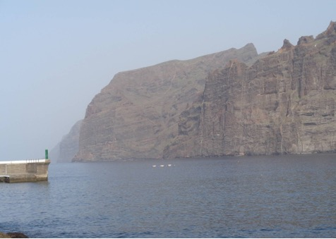 Isla de Tenerife - Dársena de Los Gigantes
