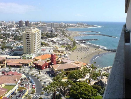 Isola de Tenerife - Playa de los Cristanos