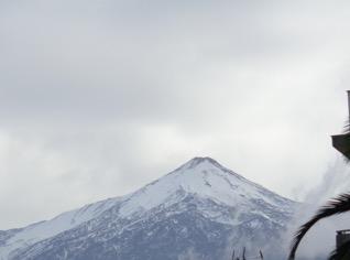Teide con su nítida y pura capucha de nieve