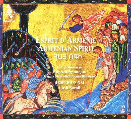 Esprit d'Arménie Hespèrion XXI Jordi Savall CD