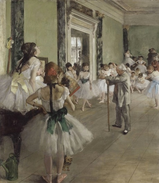 Edgar Degas (1834-1917) La clase de danza
