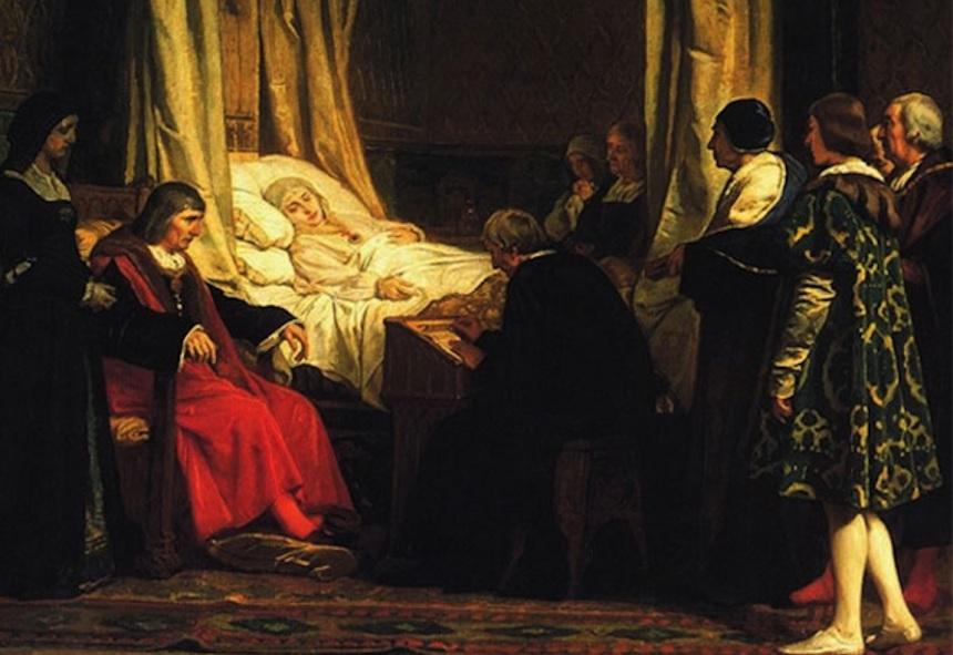 Muerte de Isabel 1