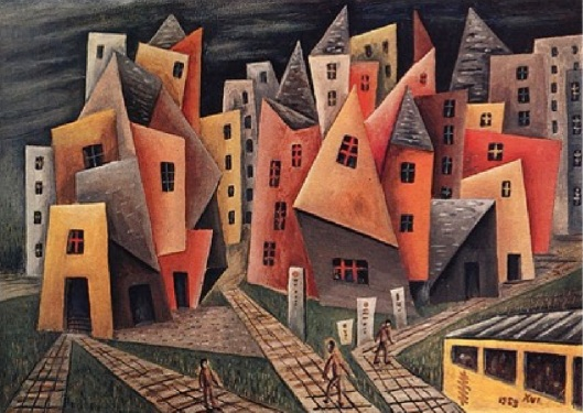 Barrio, 1953, Xul Solar