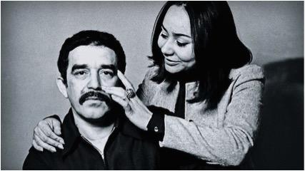 Gabriel García Márquez y su mujer Mercedes Barcha