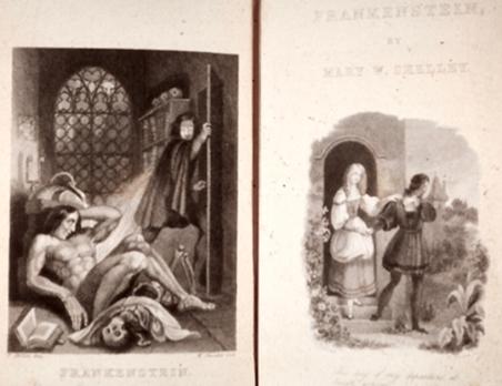 PORTADA DE LA TERCERA EDICIÓN DE FRANKESTEIN (1831)