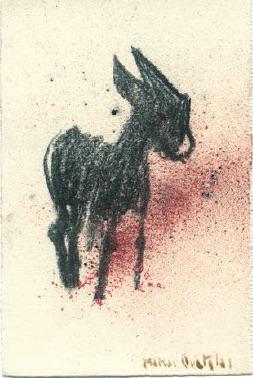 S:T, 2001. Mixta : papel. 17 x 11,5 cm.
