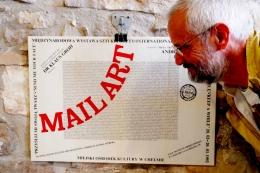 """CÉSAR REGLERO CAMPOS Barcelona 1948 Creativo Multidisciplinar especializado en poesía visual y apropiacionismo.Su relación con la poesía visual """"catalogada"""" data de 1988, fecha en la que inicia sus primeros contactos con el Mail Art. Años antes ya hacía poesía visual pero ignoraba que la estaba haciendo (1971-1987). Sin embargo, su trayectoria en Mail Art le hace relacionarse inmediatamente con los más activos poetas visuales españoles. En 1998 hizo de su estudio un centro de documentación de Mail Art. Al mismo tiempo dirige la publicación electrónica de Mail Art y Poesía Visual Boek861 (http://boek861.com). En esta publicación se han realizado varios debates sobre el tema y tiene editados poemas visuales electrónicos de medio millar de poetas visuales españoles e internacionales. Asi como más de cinco mil reportajes de poesía visual, arte-acción, libro de artista y mail art. A través del Boek Visual, y de la mano de Edu Barbero, se han editado más de un centenar de microprogramas dedicados a poetas visuales en """"La Aventura del Saber""""/ TV2 A nivel individual ha realizado una treinta de exposiciones en varios países. Más de un centenar de exposiciones colectivas de poesía visual, y cerca de 500 exposiciones de Mail Art. A representado a España en varios Simposium de Arte Contemporáneo en Italia (Nápoles, Milán, Verbania y Sormano)…así como en las actos paralelos de la Bienal de Venecia. Actualmente expone en el Musac (Museo de Arte Contemporáneo de Castilla León) en una antología de la Poesía Experimental Española 1963-2016"""