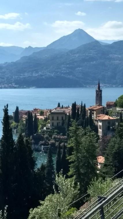 Vista Varenna y Lago de Como